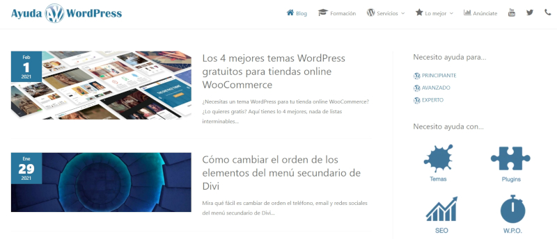 Buscador blog - Ayuda WordPress en Bitakoras