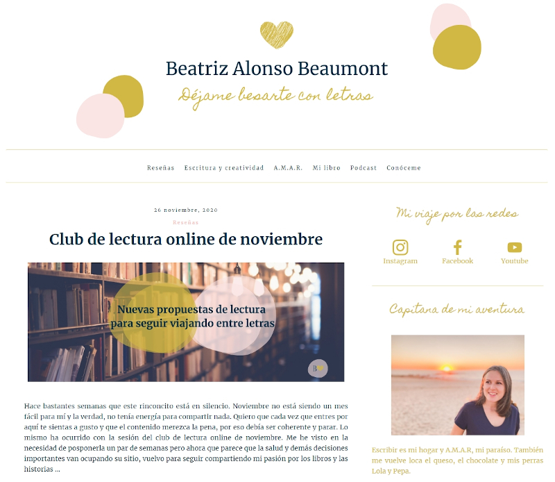 Buscador blog - Beatriz Alonso Beaumont en Bitakoras