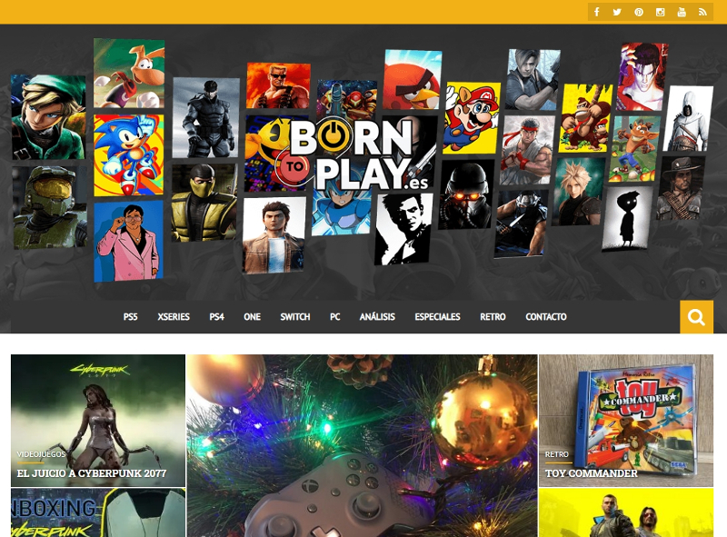 Buscador blog - Born To Play en Bitakoras