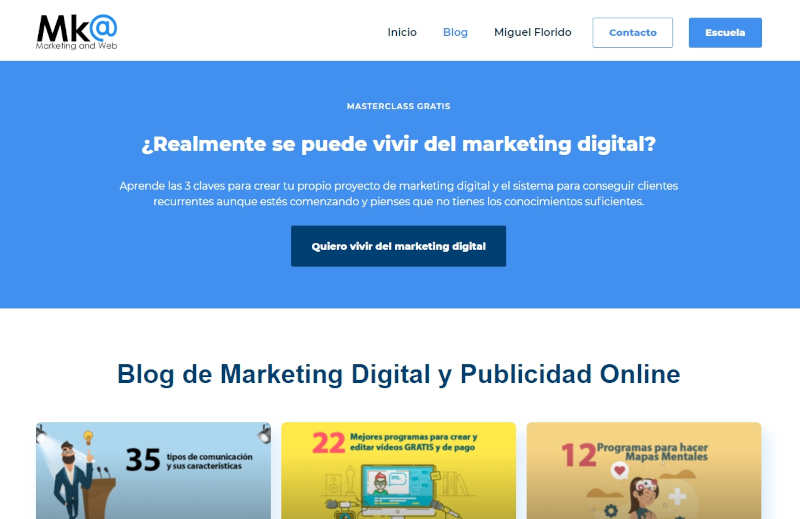 Buscador blog - Marketing and Web en Bitakoras