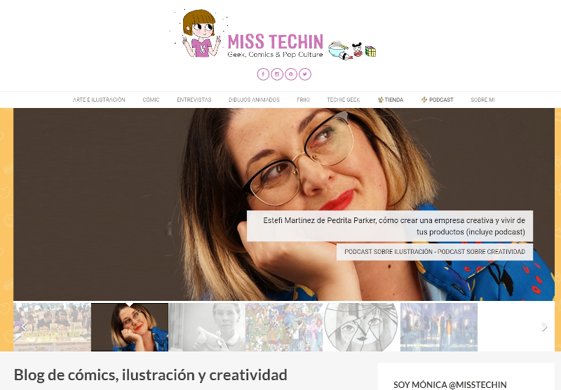 Buscador blog - Miss Techin en Bitakoras
